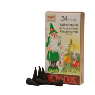 Räucherkerzen - Weihnachtsduft