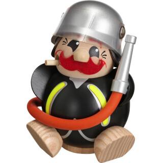 Kugelräucherfigur - Feuerwehrmann