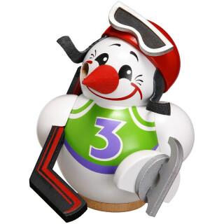 Kugelräucherfigur - Cool Man Eishockeyspieler