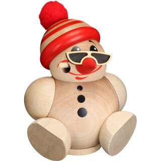 Kugelräucherfigur - Cool Man mit Mütze