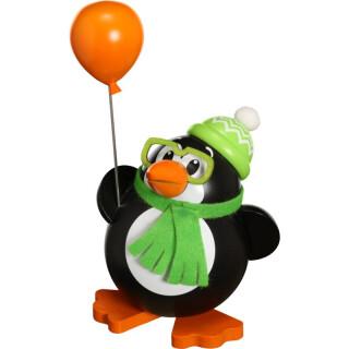 Kugelräucherfigur - Pinguin
