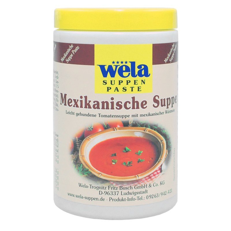 Mexikanische Suppe Paste 1/2