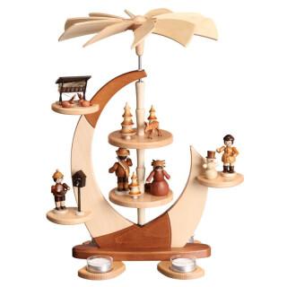 Design-Pyramide - Segel, klein Waldfiguren