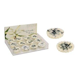 Duftwachs Vanille für Duftlampen, ca. 15g, 5 cm Durchmesser