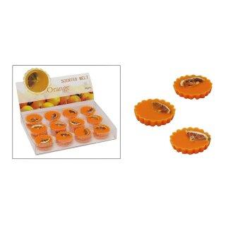 Duftwachs Orange für Duftlampen, ca. 15g, 5 cm Durchmesser