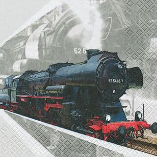 Serviette - Lokomotive