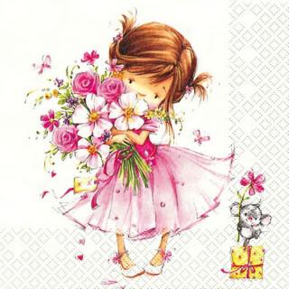 Serviette - Little Princess