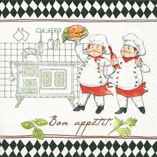 Serviette - Jacques and Luigi