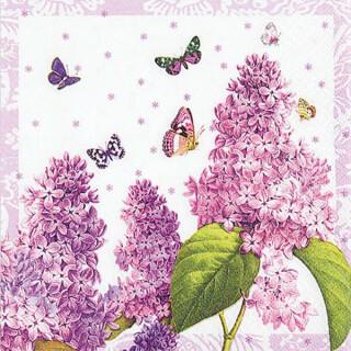 Serviette - Painted Lilac