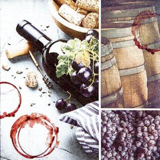 Serviette - Red Wine Spirit
