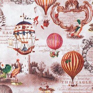 Serviette - Vintage Ballons