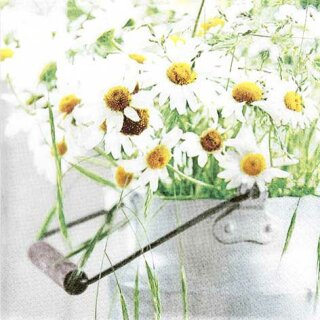 Serviette - A Bunch of Daisies