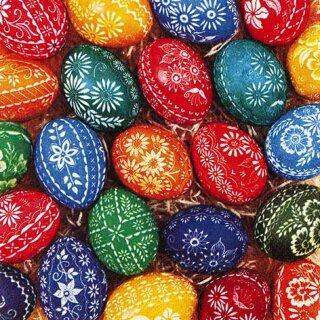 Serviette - Hand Crafted Eggs