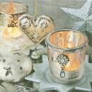 Serviette - Vintage Silver