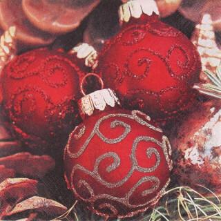 Serviette - Classy Christmas Balls