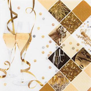 Serviette - New Year Celebration