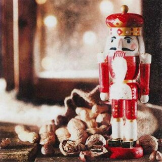 Serviette - Nutcracker