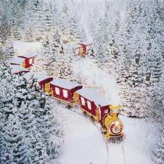 Serviette - Polar Express