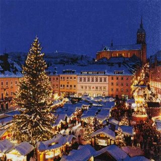 Serviette - Annaberg Christmas Flair