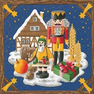 Serviette - Weihnachtsland