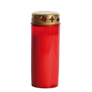 Brenner Nr. 3 mit Deckel, rote Hülle