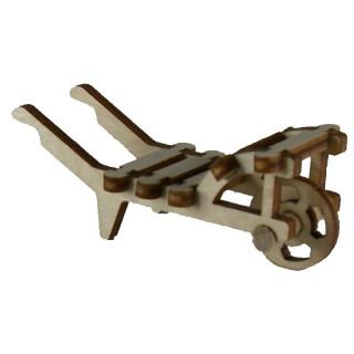 Schubkarre mit Latten - H 20 mm