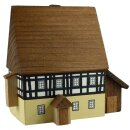 Bauernhaus, zweistöckig mit Anbau (klein) - H 69 mm...