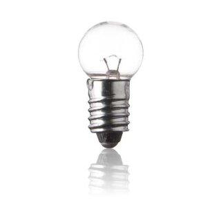 Kleinglühlampe - Kugellampe E5,5 - 3,5 V