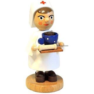 Mini-Räucherfrau - Krankenschwester
