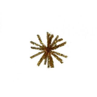 Deko-Kugelstern 18 cm, gold