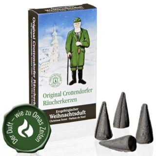 Räucherkerzen - Erzgebirgischer Weihnachtsduft