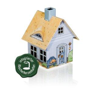 """Räucherhaus mit integriertem Räucherkerzenhalter """"Strandhaus"""""""