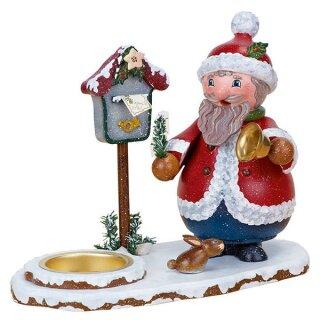 Räucherwichtel - Weihnachtsmann mit Teelicht