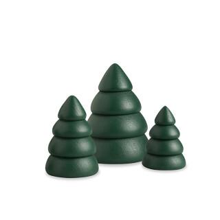 Miniatur Baumset 1   Bäume grün, 3-teilig