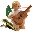 Engel mit Gitarre, auf Klemme