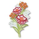 Fensterbild - Blumenstrauß