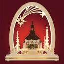 Seiffener Kirche mit Kurrende - Seidelbogen