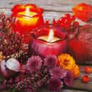 Serviette - Autumn Lantern