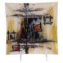"""Glasplatte """"Polaris"""" Viereck, 19 cm"""