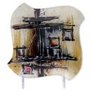 """Glasplatte """"Polaris"""" Viereck, 15 cm"""