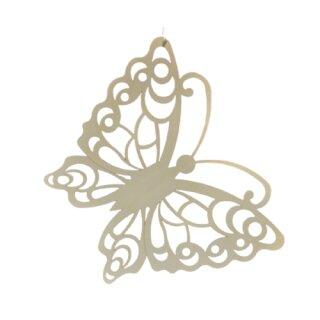 Fensterbild - Schmetterling, unbeleuchtet, Original Erzgebirge