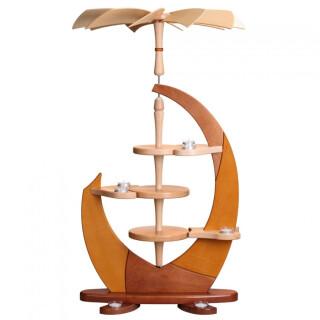 Design-Pyramide - Segel, ohne Bestückung