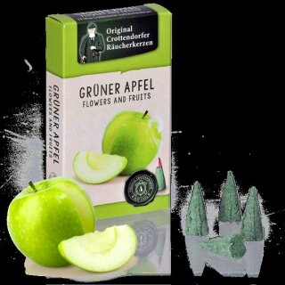 Räucherkerzen - Grüner Apfel