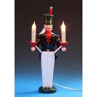 Lichterbergmann - farbig, elektr. beleuchtet